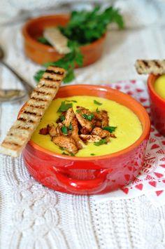 Kreminė kukurūzų sriuba su vištiena #vakarienė #sriuba #vištiena