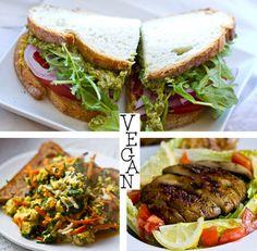 vegan-food no bread for me please