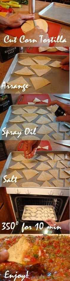 Out of Chips? Use a Tortilla. | 34 Creative Kitchen Hacks That Every Cook Should Know