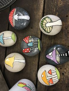 Hand Painted Stones                                                                                                                                                                                 More
