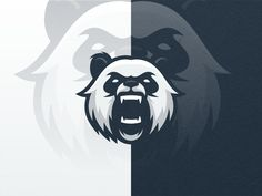 Creative Logo, Design, Angry, Panda, and Jhon image ideas & inspiration on Designspiration Animal Graphic, Animal Logo, Gfx Design, Esports Logo, Sports Team Logos, Game Logo, Logo Design Inspiration, Nike Inspiration, Logo Sticker