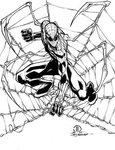 Superior Spider-man ock arms inks by JoeyVazquez on DeviantArt