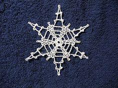Ravelry: Snowflake # 9 pattern by Sally V. George