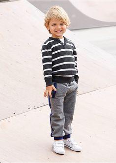 Pantaloni casual-sport Cu un croi lejer • 54.9 lei • bonprix Lei, Hipster, Casual, Style, Fashion, Swag, Moda, Hipsters, Fashion Styles