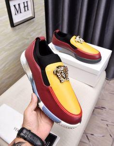 Modern interior House Design Trend for 2020 Versace Fashion, Versace Men, Fashion Shoes, Lit Shoes, Men's Shoes, Shoe Boots, Shoes Men, Mens Fashion Suits, Custom Shoes