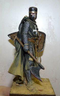 Фигурки: Брат-рыцарь ордена Госпитальеров, фото #2