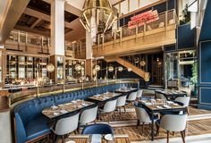 Tour Boka's Ritzy New Gold Coast Restaurant, Now Open Tour Boka's Ritzy New Gold Coast Restaurant, Now Open - Eater Chicago<br> Read Somerset's menu, where swanky yacht rock dreams come true Luxury Restaurant, Restaurant Interior Design, Cafe Restaurant, Modern Interior Design, Home Design, Restaurant Service, Restaurant Furniture, Design Interiors, Cafe Bar