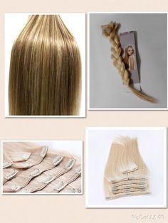 Highlighted Clip In Indian Remy Cuticle Human Hair Extensions- Full Head- 150g  #HairExtension