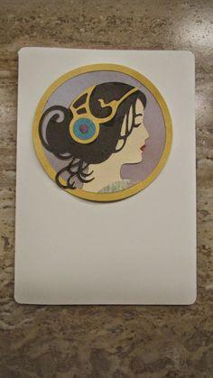 She's a Sassy Lady: Art Nouveau Two