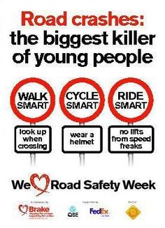 This educate people and makes them aware of the safety rules.