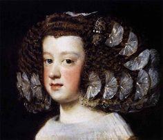 Диего Веласкес 4 - Испанская живопись. Инфанта Мария Тереза. 1651-52