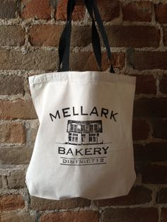 Mellark Bakery Cotton Canvas Tote Bag by StudioVim on Etsy, $10.00