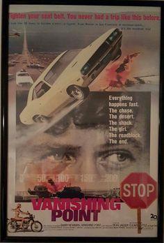 Buddy Movie, Movie Tv, Classic Movie Posters, Film Posters, Vanishing Point Movie, Starlite Drive In, Star Wars, Dodge Challenger, Vintage Movies