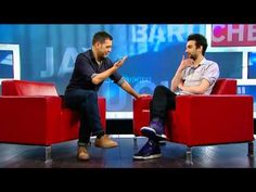 Jay Baruchel On George Stroumboulopoulos Tonight: INTERVIEW -- Jay talking about spiritual things makes my heart ache; he's so searching for answers, you can just tell.