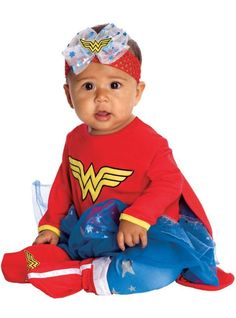 Baby Tutu Wonder Woman Costume - Party City