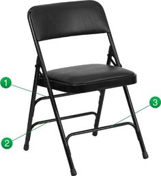 Hercules Series Folding Chair Set of 4 Finish Black ** Visit the image link more details. Note:It is affiliate link to Amazon.