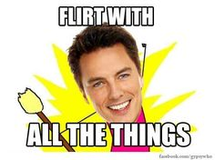 Cpt Jack Harkness is impossible to resist no matter your age, gender, species