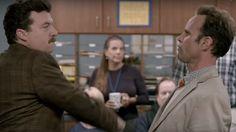 Danny McBride, Walton Goggins Square Off in HBO's First 'Vice Principals' Trailer Danny Mcbride, Walton Goggins, Vice Principals, Timothy Olyphant, New Comedies, Comedy Series, Teaser, The Man, Movie Tv