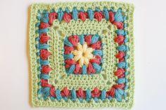 Crochet #47 Square. No Pattern.