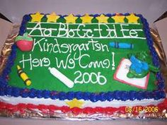 Image Search Results for kindergarten graduation cake