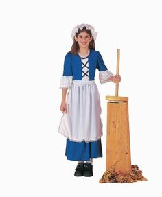Forum Novelties Colonial Girl Costume Childs Large ** Check out this great product.
