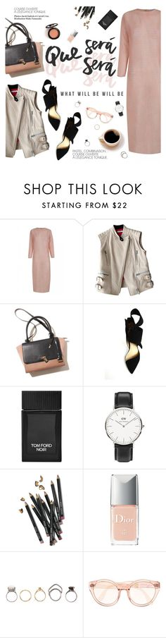 """What will be will be"" by punnky ❤ liked on Polyvore featuring CÉLINE, Tom Ford, Daniel Wellington, Bobbi Brown Cosmetics, Christian Dior, Iosselliani and shirtdress"