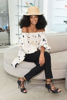 Solange Knowles attends Malone Souliers event at Nordstrom The Grove, LA - Jul 27, 2015