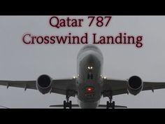 Video: Qatar Airways 787 crosswind landing at Manchester airport | traveLink.
