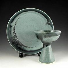 pottery communion plates - Yahoo Image Search Results Communion Sets, Image Search, Pottery, Plates, Tableware, Vintage, Etsy, Ceramica, Licence Plates