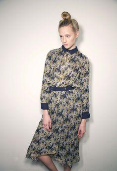 Roseanna Printed Chiffon Skirt