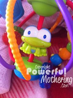 Bright Starts Clack And Slide Activity Ball Review - A great toy for baby from around 3 months of age!