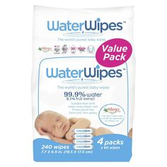 WaterWipes Value Box 240 Wipes