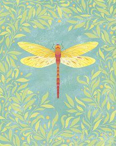 """""""Dragonfly"""" Licencia Todos los derechos reservados por Claire Mojher"""