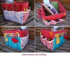 caja organizadora de costura.