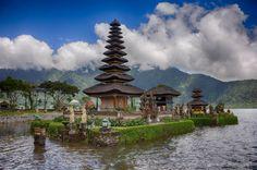 Bratan Temple, North Bali, Indonesia
