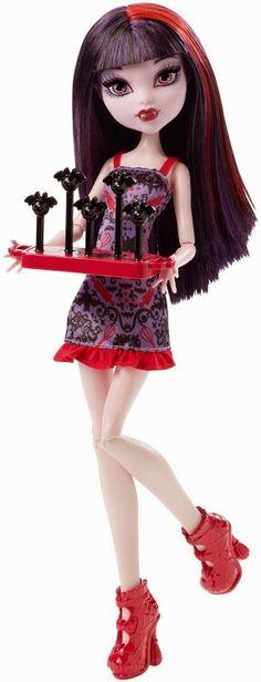 Elissabat ghoul fair doll mattel