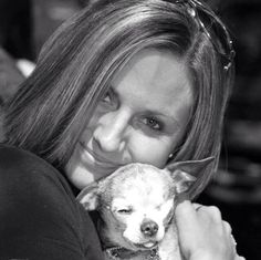 Well ... she's no Chihuahua, but she sure is pretty! I love Michaela.