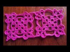 Crochet Tunic Pattern, Crochet Blanket Edging, Crochet Motifs, Crochet Blocks, Crochet Diagram, Easy Crochet Patterns, Crochet Designs, Crochet Doilies, Crochet Lace