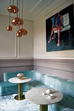 Modern home design Deco Restaurant, Restaurant Design, Commercial Design, Commercial Interiors, Interior Exterior, Interior Architecture, Bar Interior, Luxury Interior, Room Interior