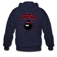 Veste à capuche Funny Santa Claus - Merry Christmas #cloth #cute #kids# #funny #hipster #nerd #geek #awesome #gift #shop Thanks.