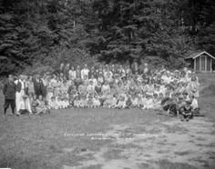 Excelsior Laundry Employees 1st Annual Picnic - City of Vancouver Archives