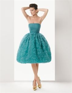 I was looking everywhere to find a blue POOFY ball gown that was short and I finally found the one!!!!!!!