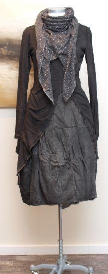 stilecht - mode für frauen mit format... - rundholz dip - Longjacke Jersey mud - Winter 2013