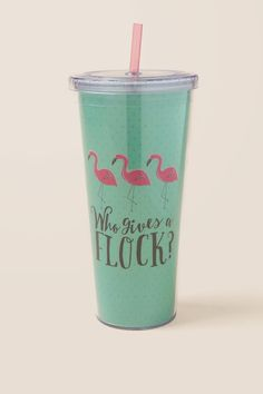 Who Gives A Flock Travel Cup