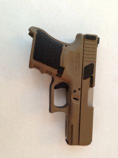 A Glock 29 with a Twist. 9x25 Dillon baby! Custom Guns, 2nd Amendment, Axe, Biography, Hand Guns, Firearms, Bangs, Knives, Innovation