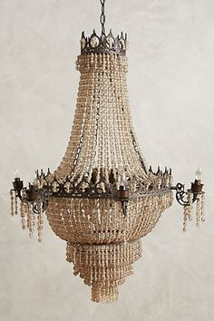 Tea Empire Chandelier - anthropologie.com  I want this in my foyer !!!