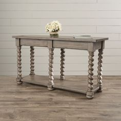 Found it at Wayfair - Savane Console Table Traditional Console Tables, Powder Room Vanity, Entryway Console Table, Joss And Main, Family Room, New Homes, Living Room, Classic, House