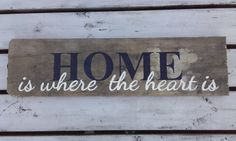 Home is where the heart is Design by Bram Signs #bramsigns