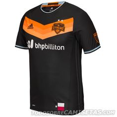 huge discount 916d7 1d9ab Black Houston Dynamo Shirt Houston MLS New Secondary Jersey by Adidas.