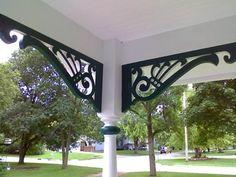 Victorian porch exterior bracket style arch 2